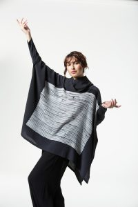 Open Poncho, String Graphic